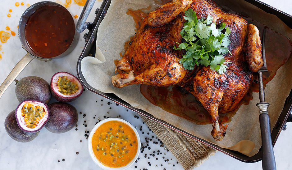 roast-chicken-with-peruvian-passionfruit-sauce